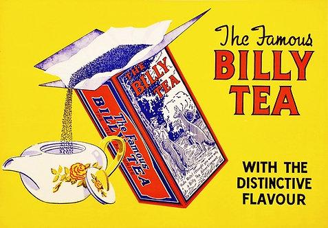 Billy Tea advert