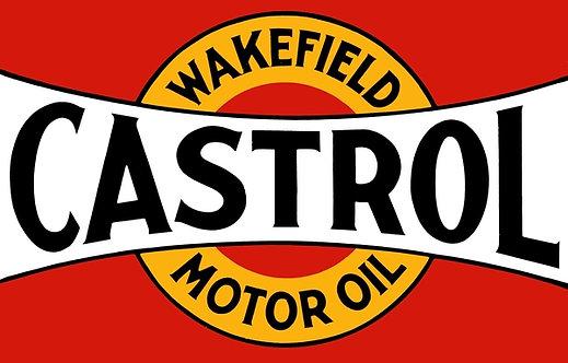 Castrol Motor Oil Wakefield sign