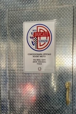 Ducati Customised Sign