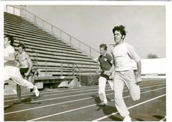Rick Reynolds running track