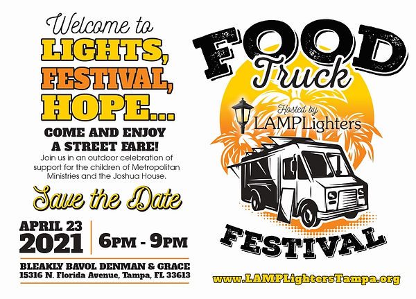 Lights Festival Hope 2021 Save the Date.
