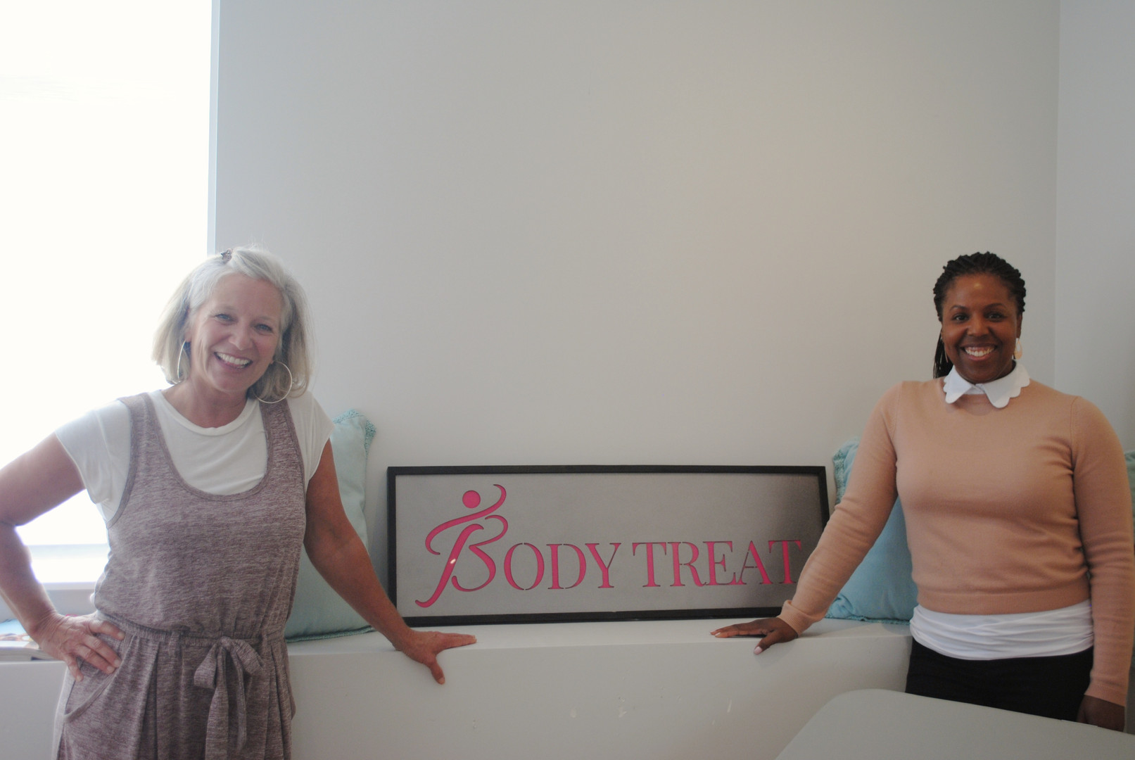 Client's love their therapy at Body Treat directed by Dr Amy Adams