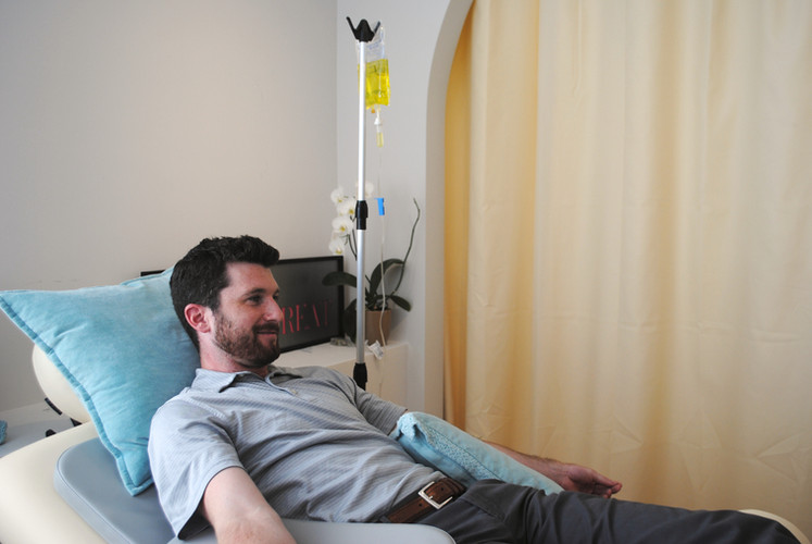 Enhance your sense of wellness with a Myers Drip IV therapy treament