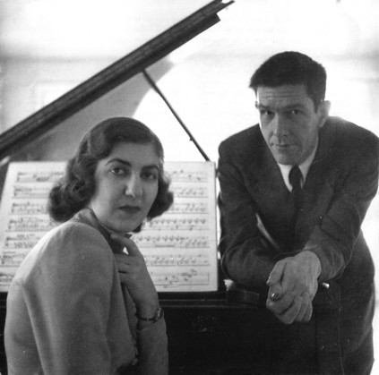 Maro Ajemian (Piano) with John Cage