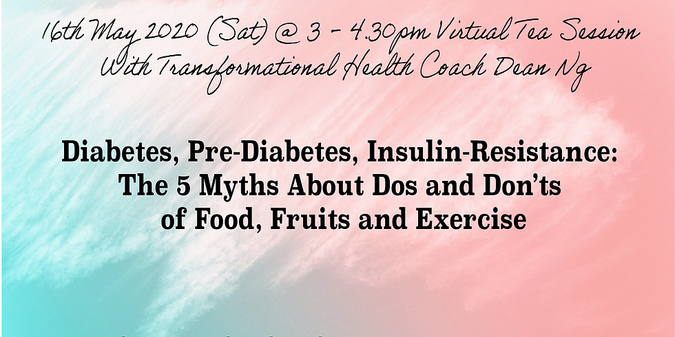 Diabetes, Pre-Diabetes, Insulin-Resistance: The 5 Myths About Dos and Don'ts of Food, Fruits and Exercise