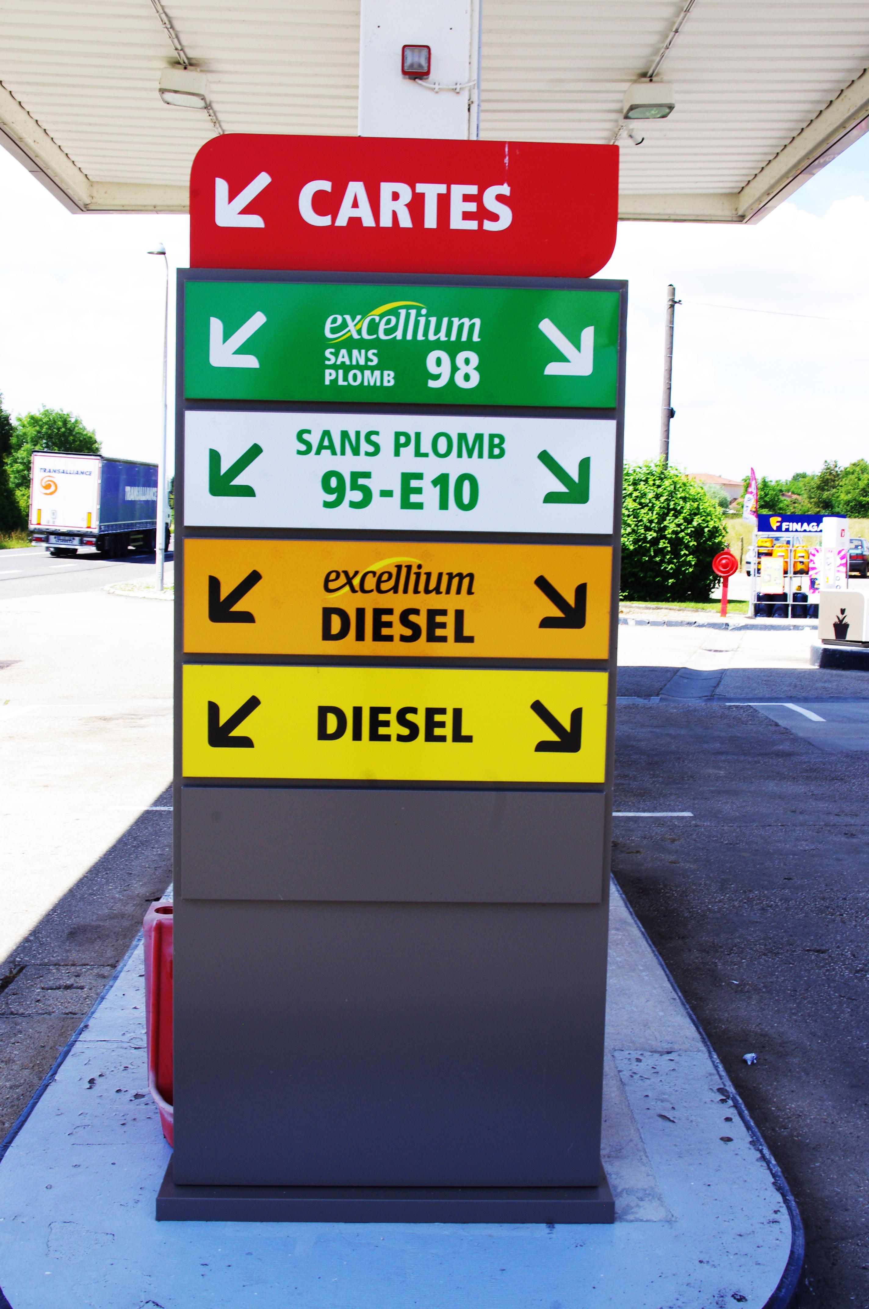 Indicateurs carburants