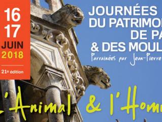 Les Journées du Patrimoine de Pays et des Moulins. 16 et 17 juin.