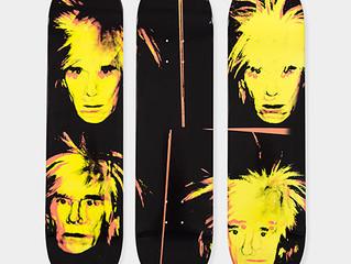 Warhol, Basquiat…des planches de skateboard… l'innovation dans produits dérivés culturels au Museu