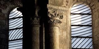 Vitraux Pierre Soulages Abbaye de Conques