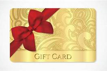 Westy's Gift Card/Certificate