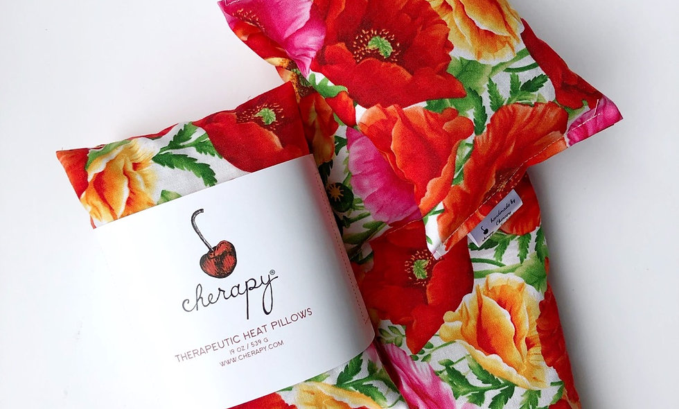 Therapeutic Heat Wrap # 184 Poppies
