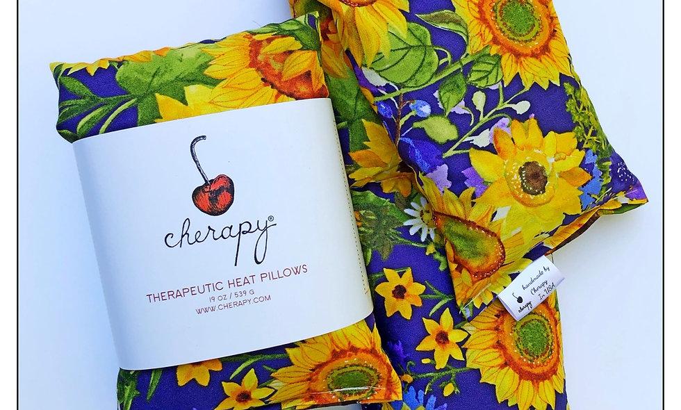 Ruth's Sunflower Garrden Cherapy Heatwrap # 210