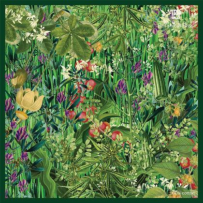 Botanical Printed Cotton Scarf