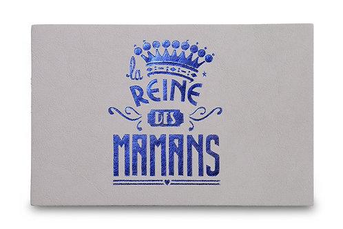 """CARTE POSTALE """"la REINE des MAMANS"""" GRIS"""
