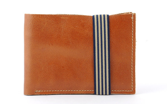 MEN WALLET WITH ZIPPED POCKET