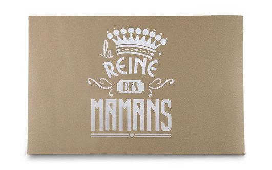 """CARTE POSTALE """"la REINE des MAMANS"""" OR MAT"""