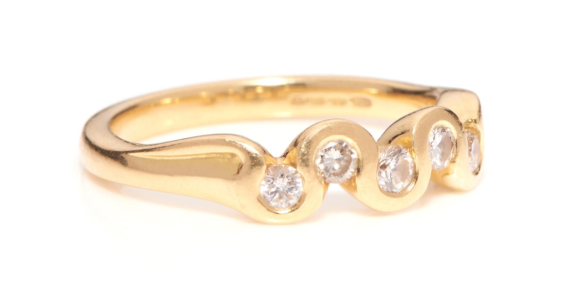 Ring on White