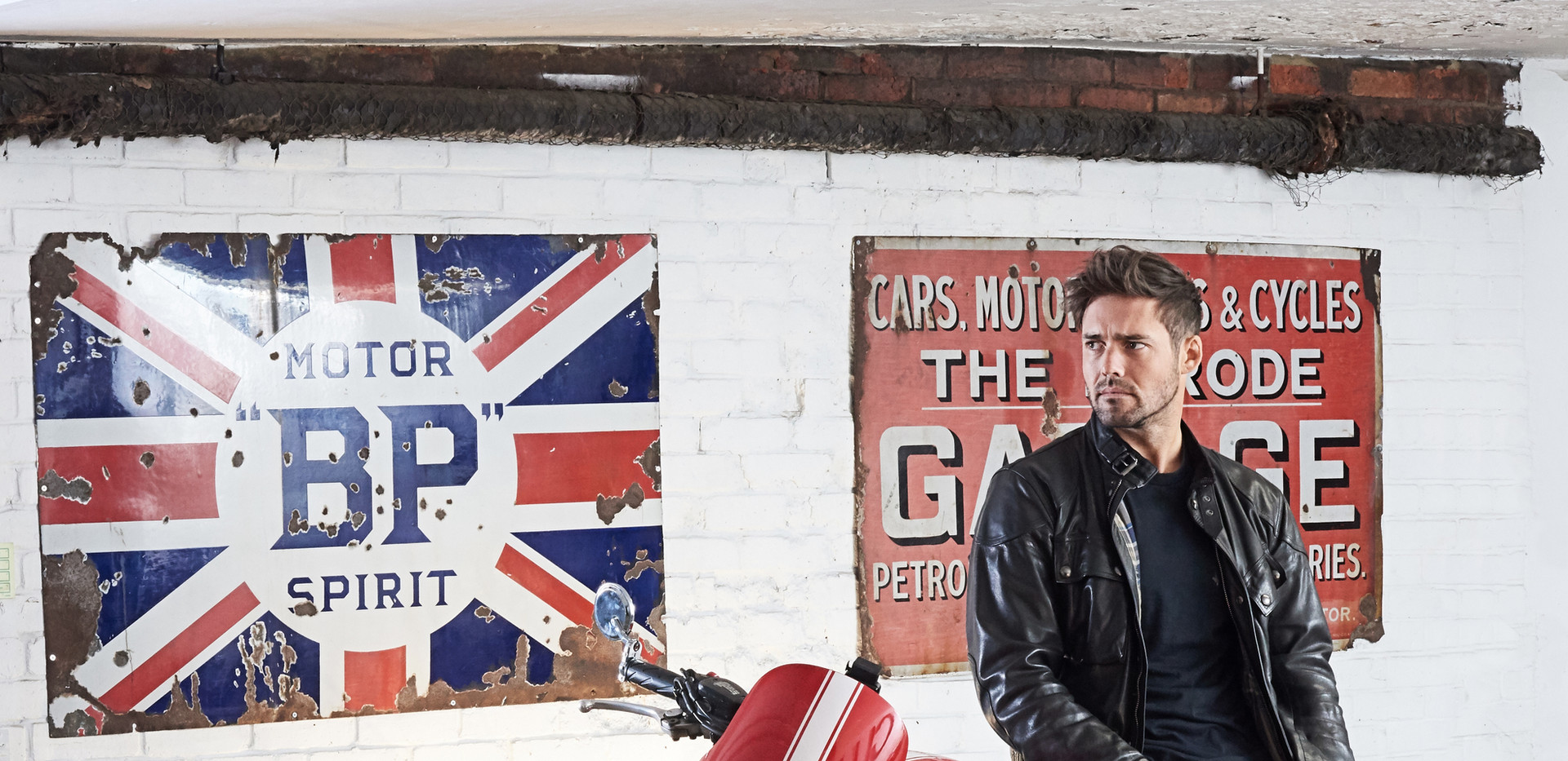Spencer Matthews for Mojo at The Classic Car Club