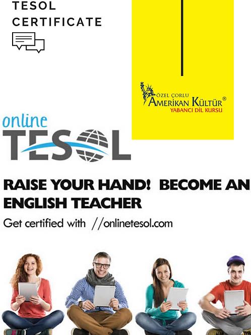 TESOL Online Certificate