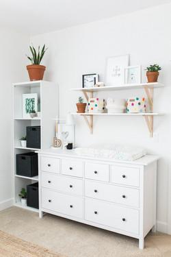 Black and White Nursery