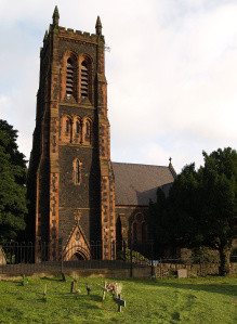 Caernarfonshire, Bangor, St David's Church - The Tower