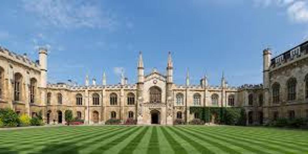 "Panel presenter at Cambridge ""Christian Theology Seminar"""