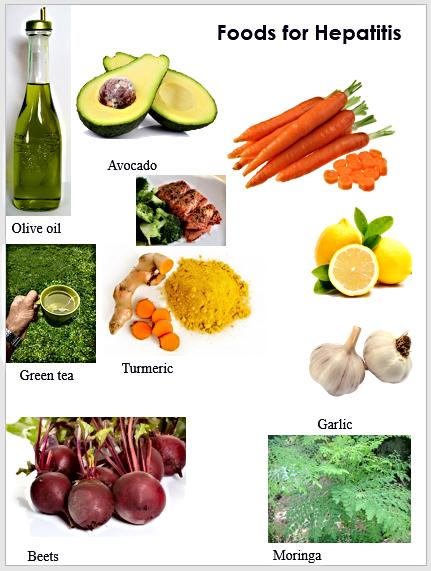 Foods for Hepatitis