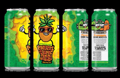Cosmic Jacuzzi IPA w/Pineapple