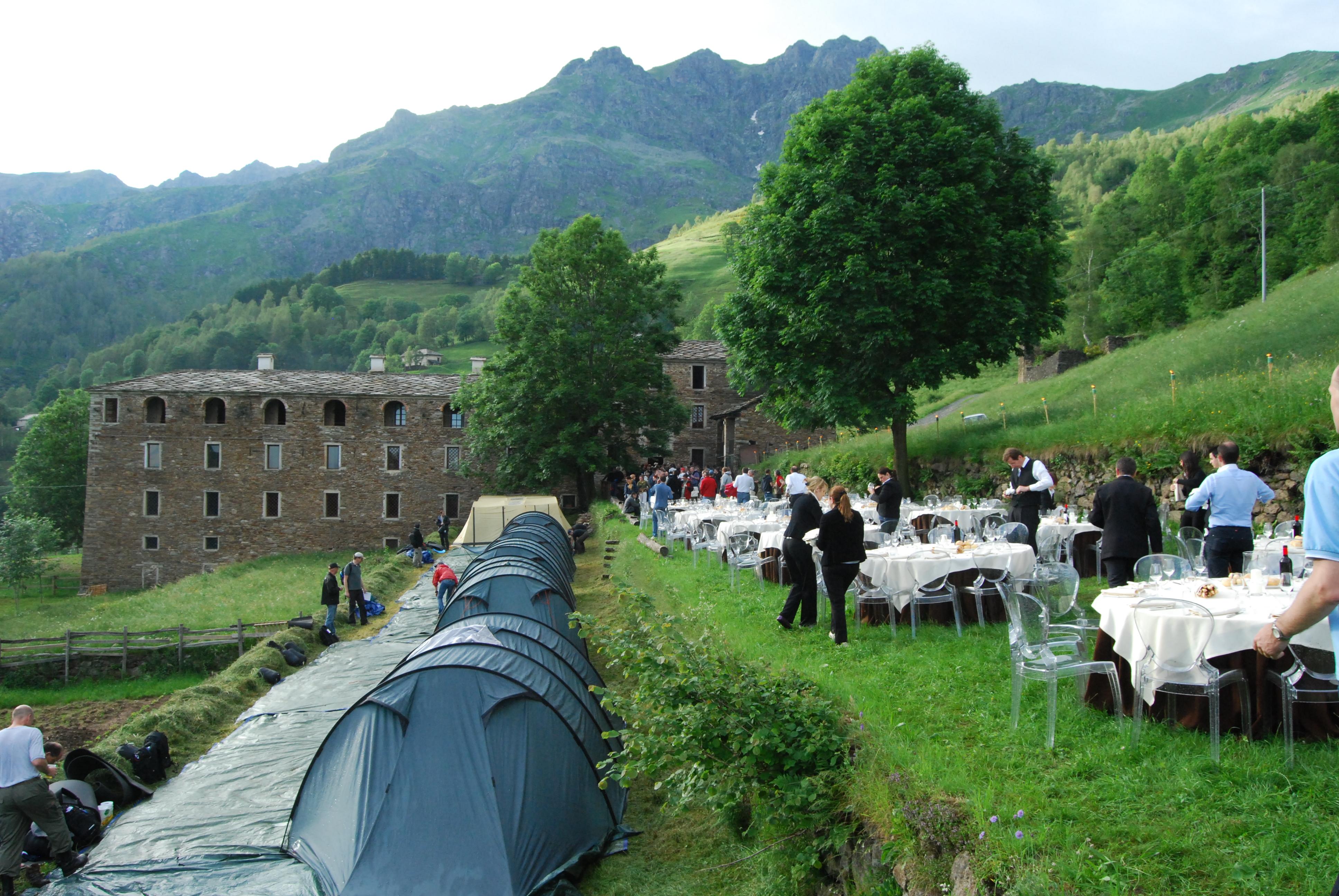 Campo e cena/Camp and dinner
