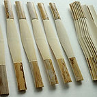 gouged, profiled and shaped canes for basson reeds