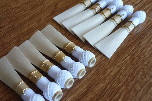 10 high quality bassoon reed blanks from Aegean cane  /dukov_reeds An/