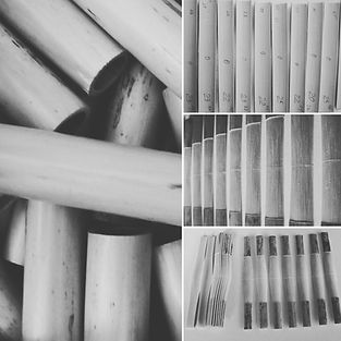 bassoon reed tubes, gouged cane, profiled and shaped cane for bassoon reedmaking