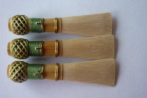3 bassoon reeds