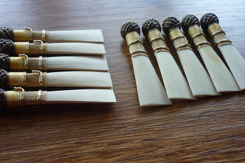 10 high quality bassoon reed blanks from Rouche cane  /dukov_reeds Re/