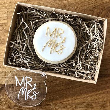 Mr & Mrs Cookie Embosser