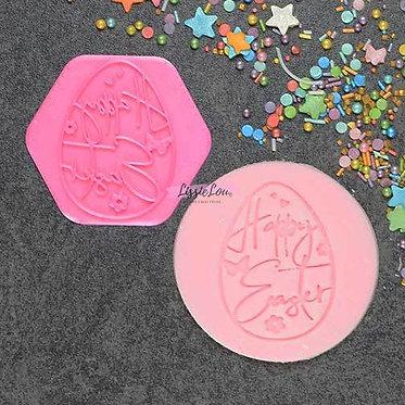 Decorative Egg Cookie Stamp