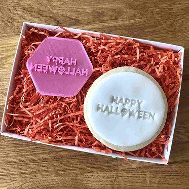 Happy Halloween Cookie Stamp
