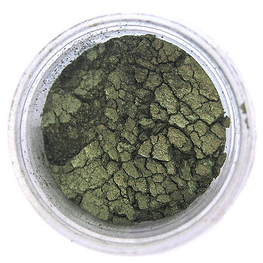 Olive Green Luster Dust