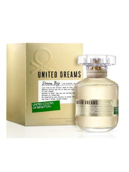 UNITED COLORS OF BENETTON UNITED DREAMS DREAM BIG FOR HER