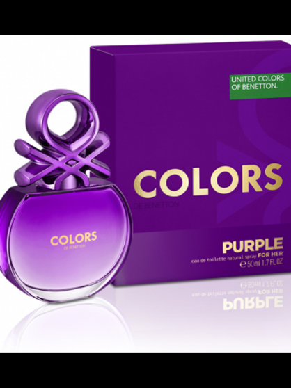 UNITED COLORS OF BENETTON COLORS PURPLE