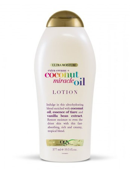 OGX- EXTRA CREAMY +COCONUT OIL MIRACLE LOTION