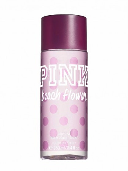 VICTORIA'S SECRET PINK BEACH FLOWER BODY MIST