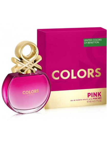 UNITED COLORS OF BENETTON COLORS PINK