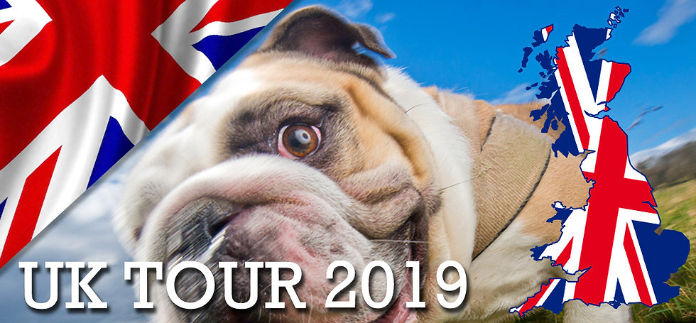 UK TOUR - Deposit for Bounders Experience
