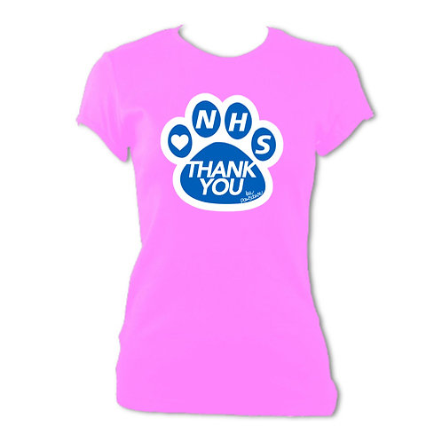 ThankYou NHS Womens Fitted Tee