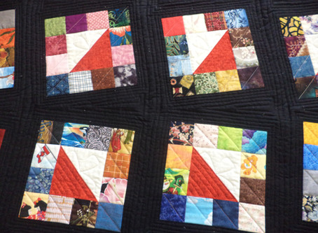 Moderize My First Quilt