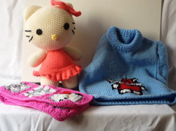 Hello Kitty knit