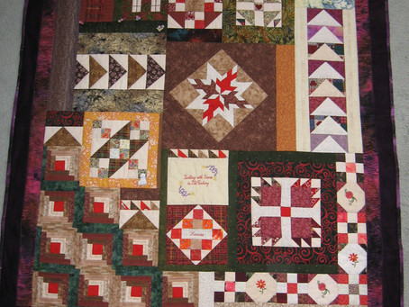 Quilting with Laura in the 21st Century