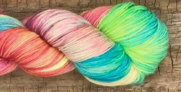 Merino Sock SW 3ply #268 - Unicornio