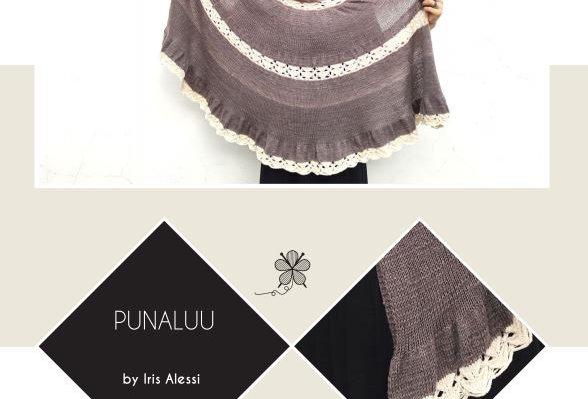 Punaluu Shawl Pattern - Iris Alessi, PDF (English)